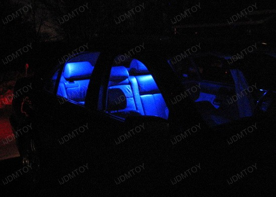 BMW - E39 - 525i - LED - car - interior - lights - 5